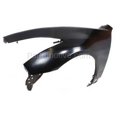 Aftermarket Replacement - FDR-1350L Front Fender Quarter Panel Driver Side For 08-13 G37 & 14 Q60 Coupe/Convertible - Image 2