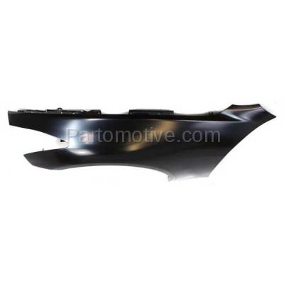 Aftermarket Replacement - FDR-1350L Front Fender Quarter Panel Driver Side For 08-13 G37 & 14 Q60 Coupe/Convertible - Image 3