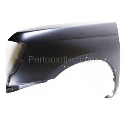 Aftermarket Replacement - FDR-1338L Front Fender Quarter Panel Driver Side For 98-00 Frontier Pickup Truck NI1240162 - Image 2