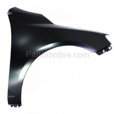 Aftermarket Replacement - FDR-1329R Front Fender Quarter Panel Passenger Side For 10-13 Forte KI1241131 663211M040 - Image 1