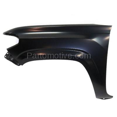 Aftermarket Replacement - FDR-1741L 16-17 Tacoma Truck Front Fender Quarter Panel Driver Side TO1240261 5381204110 - Image 1