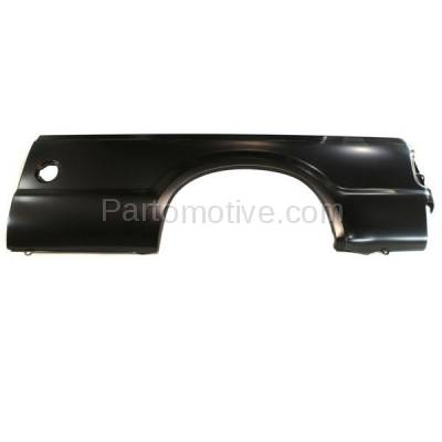 Aftermarket Replacement - FDR-1303L 99-10 F-Series SuperDuty Truck 8' Bed Rear Outer Fender Quarter Panel Left Side - Image 1