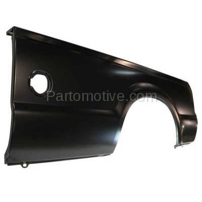 Aftermarket Replacement - FDR-1303L 99-10 F-Series SuperDuty Truck 8' Bed Rear Outer Fender Quarter Panel Left Side - Image 2