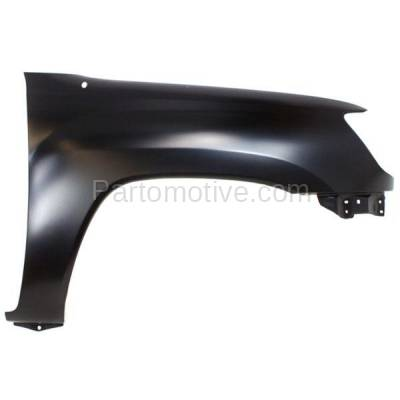 Aftermarket Replacement - FDR-1739R 05-15 Tacoma Pickup Front Fender Quarter Panel Right Side TO1241206 5381104090 - Image 1