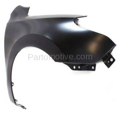 Aftermarket Replacement - FDR-1240R Front Fender Quarter Panel Passenger Side For 09-12 Elantra HY1241145 663212L010 - Image 2
