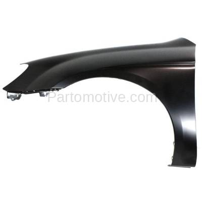 Aftermarket Replacement - FDR-1715L Front Fender Quarter Panel Driver Side LH For 04-09 Spectra KI1240118 663112F010 - Image 1