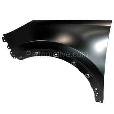 Aftermarket Replacement - FDR-1719L Front Fender Quarter Panel Driver Side For 11-16 Sportage KI1240136 663113W000 - Image 1