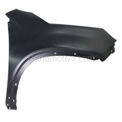 Aftermarket Replacement - FDR-1703R Front Fender Quarter Panel Passenger Side RH For 11 Sorento KI1241132 663211U020 - Image 1