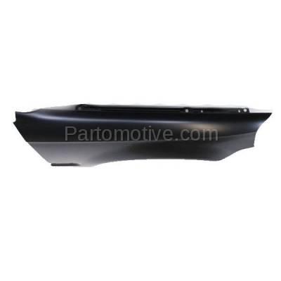 Aftermarket Replacement - FDR-1161R 99-00 Civic Front Fender Quarter Panel Passenger Side RH HO1241151 60211S01A10ZZ - Image 2