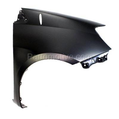 Aftermarket Replacement - FDR-1676R 04-10 Sienna Front Fender Quarter Panel Passenger Side RH TO1241202 53811AE030 - Image 2