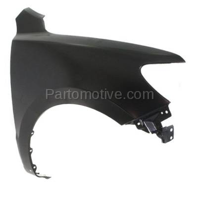 Aftermarket Replacement - FDR-1656R Front Fender Quarter Panel Right Side Fits 10-12 Santa Fe HY1241147 663200W500 - Image 2
