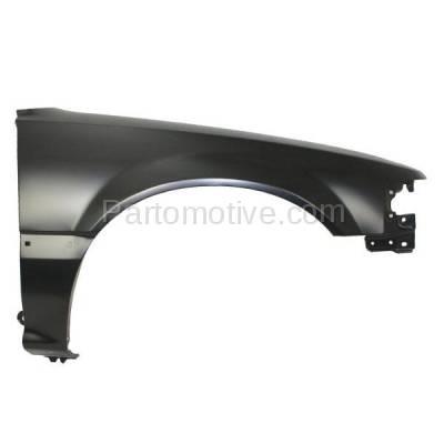 Aftermarket Replacement - FDR-1156R 88-91 Civic Front Fender Quarter Panel Passenger Side RH HO1241108 60211SH4A00ZZ - Image 1