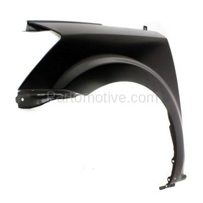 Aftermarket Replacement - FDR-1584L Front Fender Quarter Panel Driver Side Fits 07-09 Quest SE NI1240190 63113ZM730 - Image 2