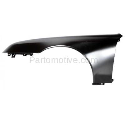 Aftermarket Replacement - FDR-1569L 97-01 Prelude Front Fender Quarter Panel Driver Side LH HO1240149 60261S30A90ZZ - Image 1