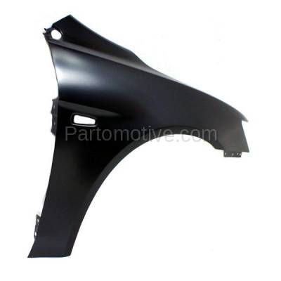 Aftermarket Replacement - FDR-1424R 08-12 Lancer Front Fender Quarter Panel Passenger Side wo-Evo MI1241170 5220C528 - Image 3