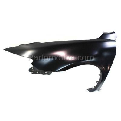 Aftermarket Replacement - FDR-1486L 03-08 Mazda6 Front Fender Quarter Panel Left Driver Side LH MA1240148 GK2C52211B - Image 2