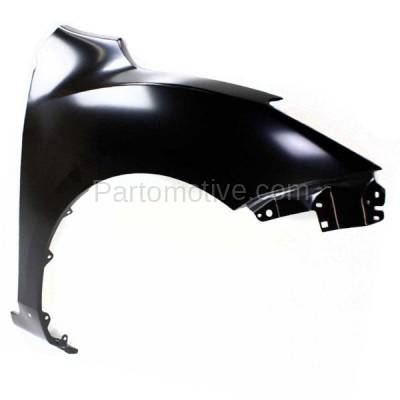 Aftermarket Replacement - FDR-1478R 10-13 Mazda3 Hatchback Front Fender Quarter Panel Right Side MA1241161 BBY45211Y - Image 2