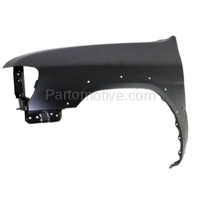 Aftermarket Replacement - FDR-1561L Front Fender Quarter Panel Driver Side For 99-02 Pathfinder NI1240173 F31012W635 - Image 2