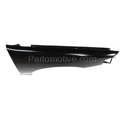 Aftermarket Replacement - FDR-1076R Front Fender Quarter Panel Passenger Side Fits 00-01 Altima NI1241172 F31000Z830 - Image 2