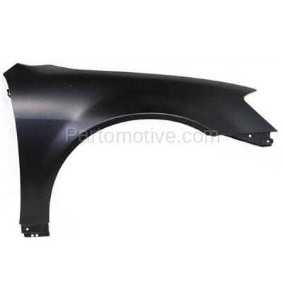Aftermarket Replacement - FDR-1077R Front Fender Quarter Panel Passenger Side Fits 02-06 Altima NI1241171 631128J030 - Image 1