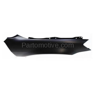 Aftermarket Replacement - FDR-1077R Front Fender Quarter Panel Passenger Side Fits 02-06 Altima NI1241171 631128J030 - Image 2