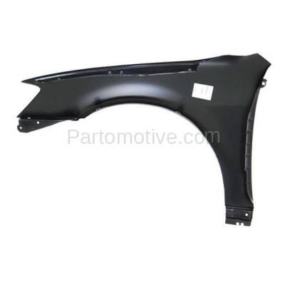 Aftermarket Replacement - FDR-1077R Front Fender Quarter Panel Passenger Side Fits 02-06 Altima NI1241171 631128J030 - Image 3
