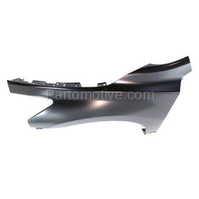Aftermarket Replacement - FDR-1080L Front Fender Quarter Panel Driver Side LH Fits 13-15 Altima NI1240205 631013TA0A - Image 2