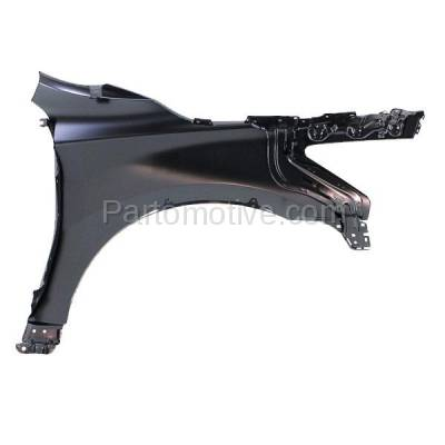 Aftermarket Replacement - FDR-1080L Front Fender Quarter Panel Driver Side LH Fits 13-15 Altima NI1240205 631013TA0A - Image 3
