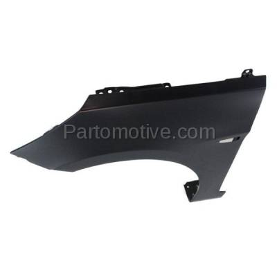 Aftermarket Replacement - FDR-1060L Front Fender Quarter Panel Left Driver Side Fits 12 Accent HY1240153 663111R300 - Image 2