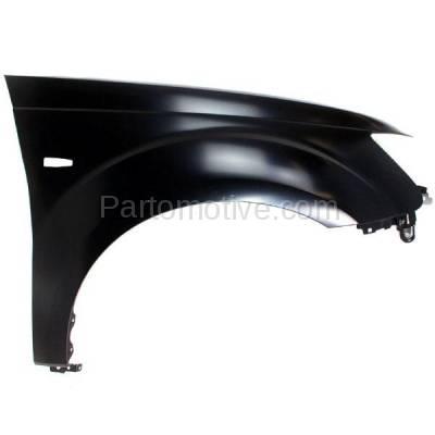 Aftermarket Replacement - FDR-1545R 07-09 Outlander Front Fender Quarter Panel Passenger Side RH MI1241171 5220C672 - Image 1