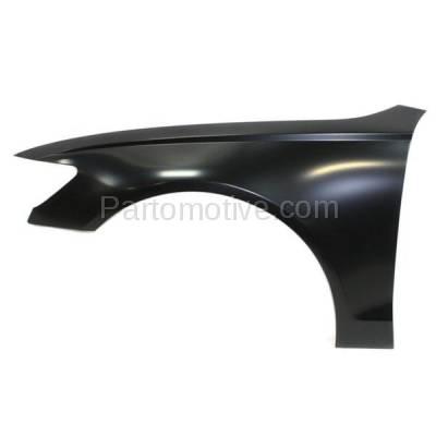 Aftermarket Replacement - FDR-1053L 12-16 A6/S6 Front Fender Quarter Panel Left Hand Driver Side AU1240125 4G0821101 - Image 1