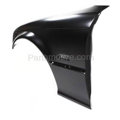 Aftermarket Replacement - FDR-1001L 00-02 3-Series Front Fender Quarter Panel Left Driver Side BM1240125 41358241439 - Image 2