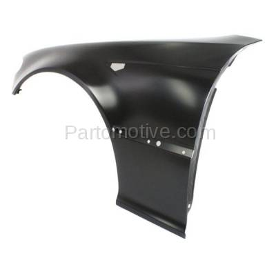 Aftermarket Replacement - FDR-1003L 03-06 3-Series Front Fender Quarter Panel Left Driver Side BM1240139 41347065263 - Image 2