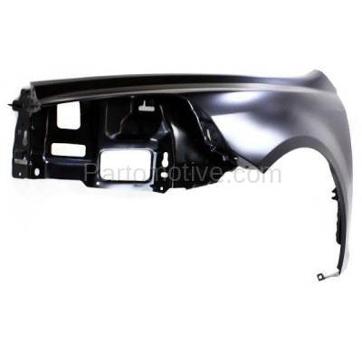 Aftermarket Replacement - FDR-1458L 09-12 Chevy Malibu Front Fender Quarter Panel Driver Side LH GM1240356 25949347 - Image 2