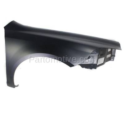 Aftermarket Replacement - FDR-1458R 09-12 Chevy Malibu Front Fender Quarter Panel Passenger Side GM1241356 25949346 - Image 1