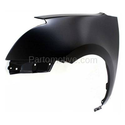 Aftermarket Replacement - FDR-1666L Front Fender Quarter Panel Driver Side LH Fits 07-12 Sentra NI1240185 63113ET030 - Image 2