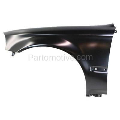 Aftermarket Replacement - FDR-1160L 96-98 Civic Front Fender Quarter Panel Left Driver Side HO1240143 60261S04A00ZZ - Image 1
