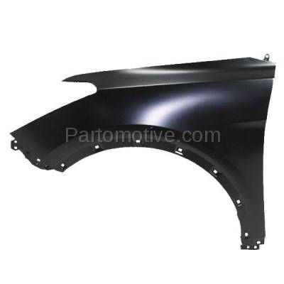 Aftermarket Replacement - FDR-1658L Front Fender Quarter Panel Left Driver Side Fits 13-16 Santa Fe XL GLS/Limited - Image 1