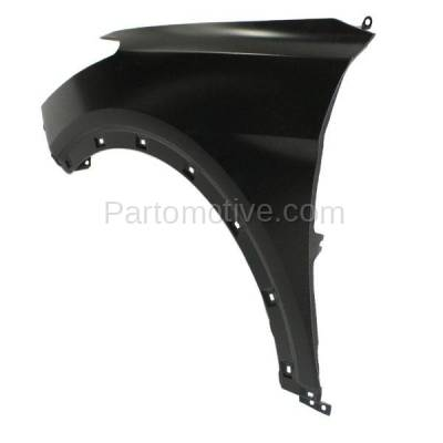 Aftermarket Replacement - FDR-1658L Front Fender Quarter Panel Left Driver Side Fits 13-16 Santa Fe XL GLS/Limited - Image 3