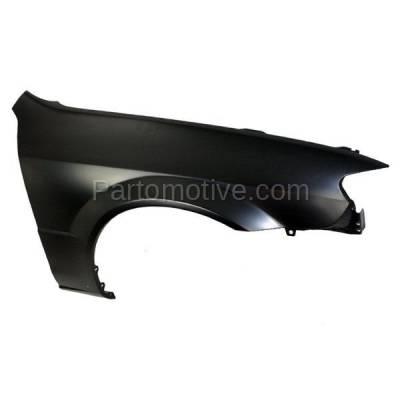 Aftermarket Replacement - FDR-1577R 02-03 Protege5 Front Fender Quarter Panel Passenger Side RH MA1241151 BN5V52111 - Image 2