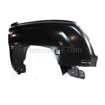 Aftermarket Replacement - FDR-1090R 02-06 Chevy Avalanche Front Fender Quarter Panel Right Side GM1241292 88980446 - Image 3