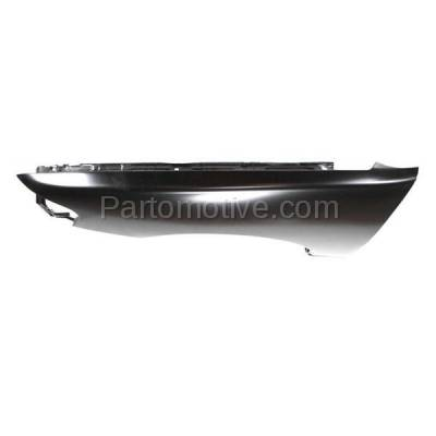 Aftermarket Replacement - FDR-1083L Front Fender Quarter Panel Driver Side LH Fits 98-99 Altima NI1240159 F31019E030 - Image 2