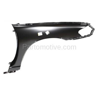 Aftermarket Replacement - FDR-1083L Front Fender Quarter Panel Driver Side LH Fits 98-99 Altima NI1240159 F31019E030 - Image 3