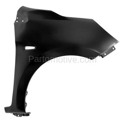 Aftermarket Replacement - FDR-1501R 14-15 Mirage Front Fender Quarter Panel Right Passenger Side MI1241178 5220G512 - Image 1