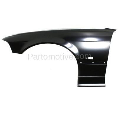 Aftermarket Replacement - FDR-1008L 92-96 3-Series Front Fender Quarter Panel Left Driver Side BM1240119 41358122235 - Image 1