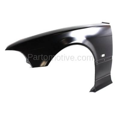 Aftermarket Replacement - FDR-1008L 92-96 3-Series Front Fender Quarter Panel Left Driver Side BM1240119 41358122235 - Image 2
