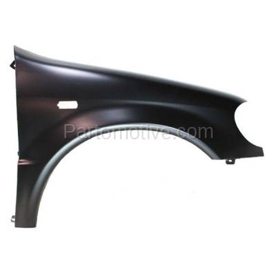 Aftermarket Replacement - FDR-1507R 98-99 ML-Class 163 Chassis Front Fender Quarter Panel Passenger Side MB1241119 - Image 1