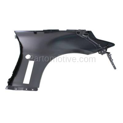 Aftermarket Replacement - FDR-1014L 2009-2019 Nissan 370Z (Coupe & Convertible 2-Door) (3.7 Liter V6) Front Fender Quarter Panel Primed Steel Left Driver Side - Image 3