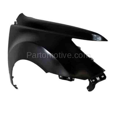 Aftermarket Replacement - FDR-1496R 07-13 MDX Front Fender Quarter Panel Passenger Side RH AC1241119 60210STXA90ZZ - Image 2