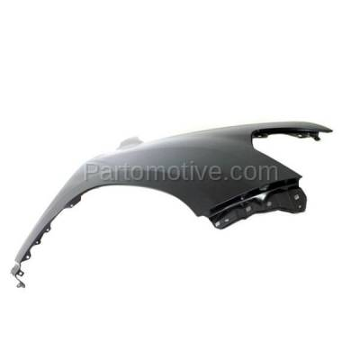Aftermarket Replacement - FDR-1427R 08-15 Land Cruiser Front Fender Quarter Panel Right Side RH TO1241227 5380160B90 - Image 2